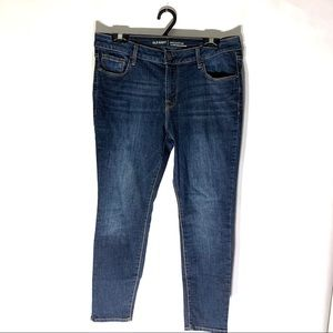 Old Navy Mid Rise Rockstar Skinny Jean Sz 12 Short